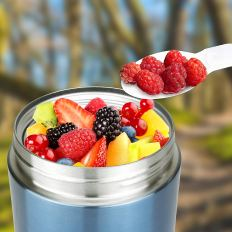 Food Jar with Folding Spoon 1